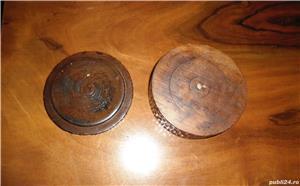 Casetă pentru bijuterii, din lemn, anii 1960 - imagine 3