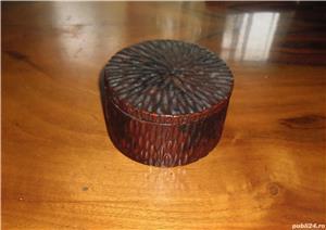 Casetă pentru bijuterii, din lemn, anii 1960 - imagine 1