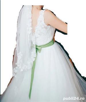 Rochie mireasa facuta la comanda casa de moda - imagine 2