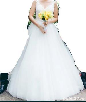 Rochie mireasa facuta la comanda casa de moda - imagine 1