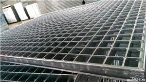 Tabla perforata,gratare metalice,trepte metalice zincate - imagine 1