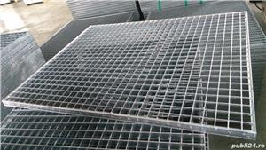 Tabla perforata,gratare metalice,trepte metalice zincate - imagine 2