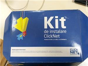 Kit instalare ClickNet Romtelecom / modem Huawei SmartAX MT882 - imagine 1