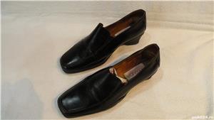 Incaltaminte, pantofi de dama/femei din piele - imagine 6
