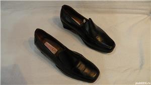 Incaltaminte, pantofi de dama/femei din piele - imagine 5