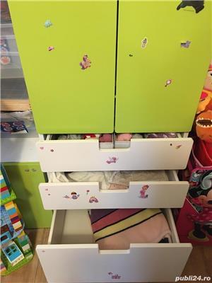 Mobila pentru camera copilului - STUVA - format din 3 piese individual - in stare foarte buna - imagine 3