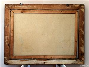 Pictura pe panza, un peste pe un platou, de Victor Stupariu - imagine 2