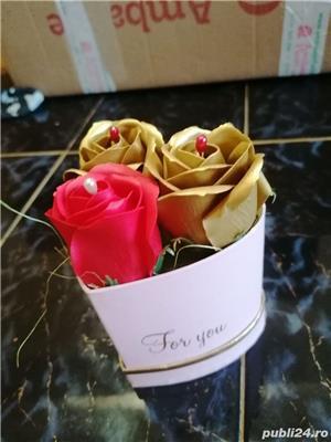 Aranjament trandafiri de săpun  - imagine 2