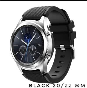 Curea smartwach 22 / 20 mm Huawei, Samsung, Amazfit - imagine 2