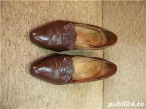 Vand incaltaminte, pantofi de dama/femei din piele - imagine 7