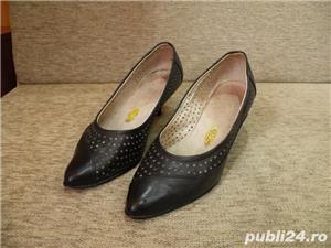 Vand incaltaminte, pantofi de dama/femei din piele - imagine 4