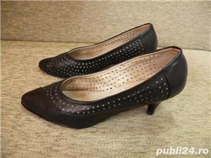 Vand incaltaminte, pantofi de dama/femei din piele - imagine 5