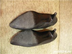 Vand incaltaminte, pantofi de dama/femei din piele - imagine 6