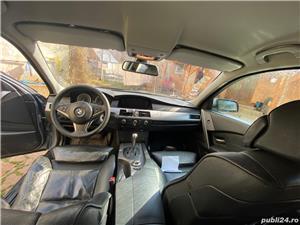 BMW Seria 5 E60 525 Diesel, berlina, Head up display, interior M - imagine 3