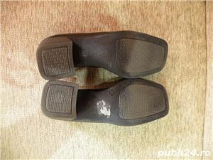Vand incaltaminte, pantofi de dama/femei din piele - imagine 3