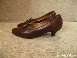 Vand incaltaminte, pantofi de dama/femei din piele - imagine 9
