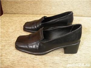 Vand incaltaminte, pantofi de dama/femei din piele - imagine 1