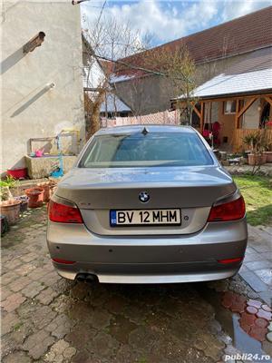 BMW Seria 5 E60 525 Diesel, berlina, Head up display, interior M - imagine 5