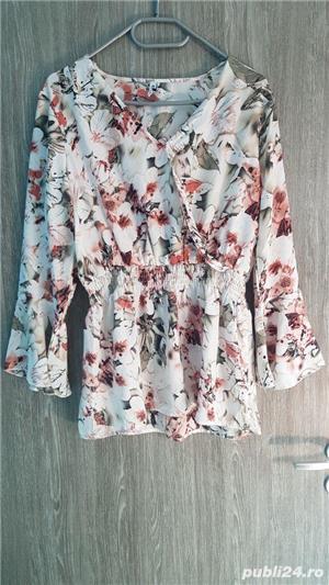 bluza S model floral - imagine 2