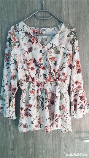 bluza S model floral - imagine 1