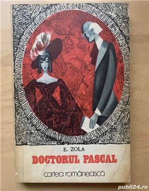 E. Zola: Bestia umana / Doctorul Pascal / La Paradisul femeilor - imagine 7