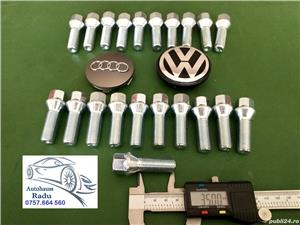 Prezoane VW Audi M14 x 1,5 filet 35 mm cap Conic NOI - imagine 1