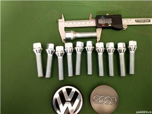 Prezoane VW Audi M14 x 1,5 filet 47 mm cap Conic NOI - imagine 2