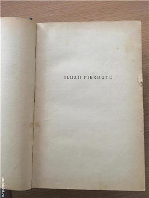 'Iluzii pierdute' - Honore de Balzac  *asigur transport în toată țara - imagine 1