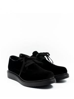 pantofi catifea oxford - imagine 2