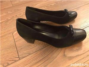 pantofi noi, piele naturala, marimea 39 - imagine 5