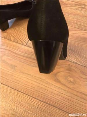 pantofi noi, piele naturala, marimea 39 - imagine 6