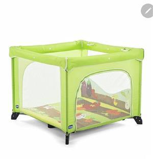 Tarc copii Chico open box pliabil verde - imagine 5