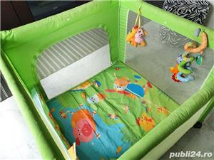 Tarc copii Chico open box pliabil verde - imagine 4
