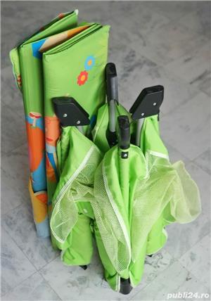 Tarc copii Chico open box pliabil verde - imagine 9
