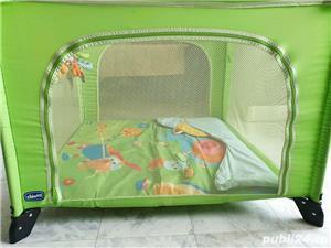 Tarc copii Chico open box pliabil verde - imagine 7