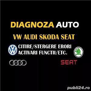Diagnoza auto activare functii VAG COM  VCDS Audi, Volkswagen, Skoda, Audi - imagine 1