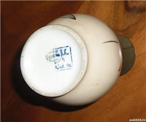 Pereche vaze ceramică, anii 1960 - imagine 3