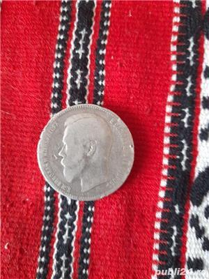 Monedă argint  - imagine 1
