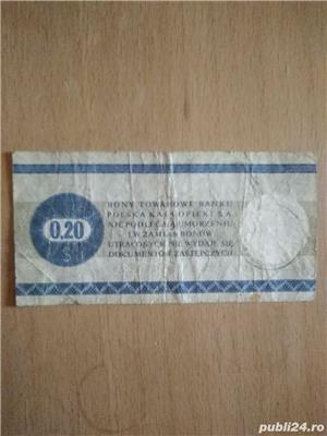 Bon Towarowy 0,20 centow pentru colectie - imagine 2