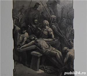 Gravură  Răstignirea lui Isus  - imagine 3