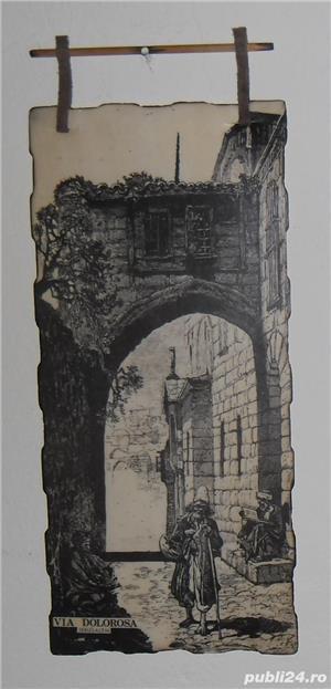 Gravură  Via Dolorosa  - imagine 1