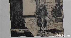 Gravură  Via Dolorosa  - imagine 4