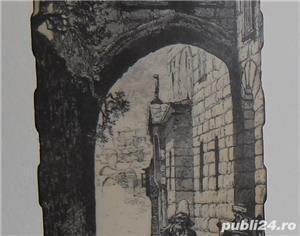 Gravură  Via Dolorosa  - imagine 3