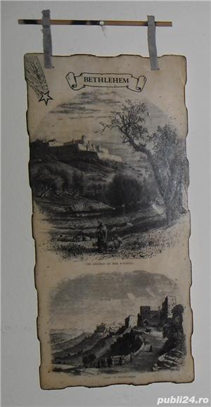 Gravură  Bethlehem  - imagine 1