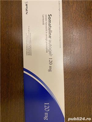 SOMATULINE AUTOGEL 120 mg X 1 SOL. INJ. IN SERINGA PREUMPLUT 120mg IPSEN PHARMA - imagine 1