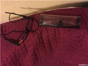 Ochelari de vedere +2,5 cu led si etui - imagine 1