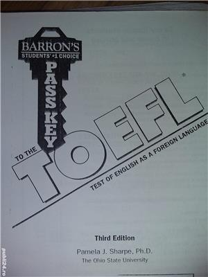 The TOEFL test of english as a foreign language xerox - imagine 2