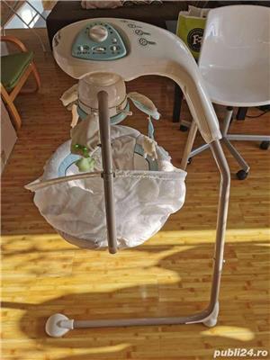 Leagan balansoar my baby lamb cradle n swing fisher price - imagine 4