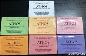 Set sapun natural, lucrat manual in Sfântul Munte Athos + AGHEASMA + CADOU  - imagine 1