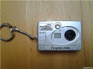 L*espion Mini Digital Camera Breloc - imagine 1
